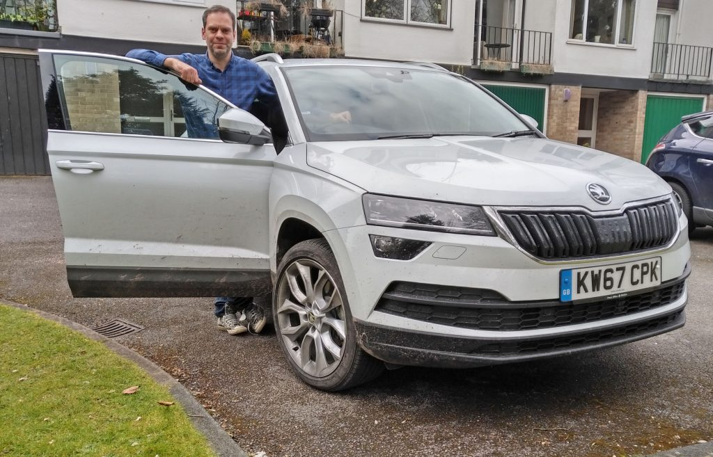 Karoq, Skoda Karoq, Skoda Karoq review, dadbloguk, dadbloguk.com, dad blog uk, uk dad blogger, #srd, papa drives