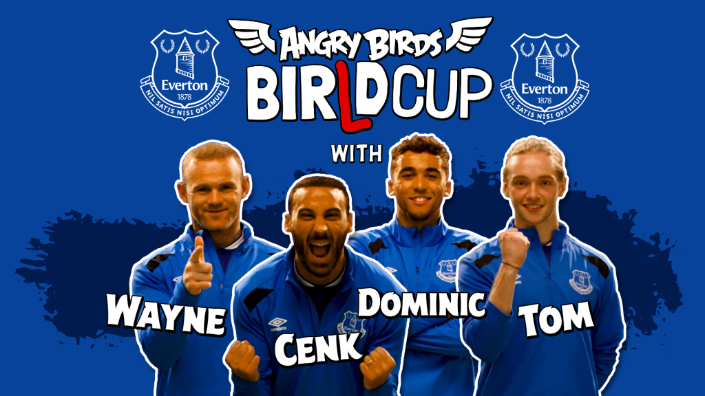 Wayne Rooney, Dominic Calvert-Lewin, Cenk Tosun, Tom Davies, Angry Birds, Birld Cup, dadbloguk, dadbloguk.com, dad blog uk, uk dad blogger, daddy blogger