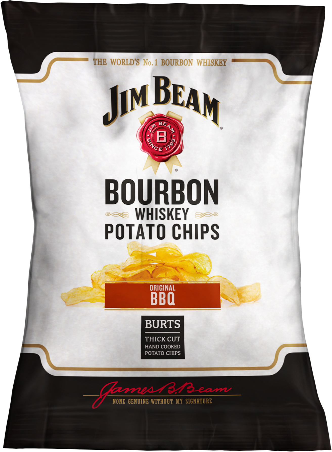 Win a BBQ package from Burts Chips and Jim Beam