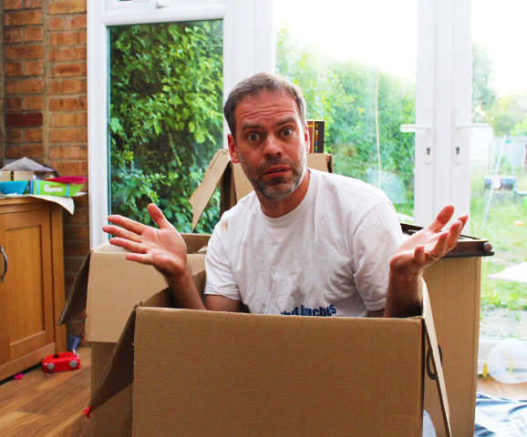 The house move is days away and I feel fine