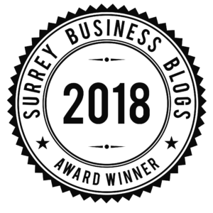 2018 Surrey Business Blogs Award Winner!
