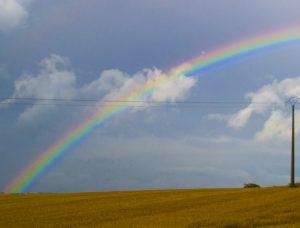 arc en ciel, rainbow, france, northern France, dadbloguk, dad blog uk, uk dad blogger, school run dad
