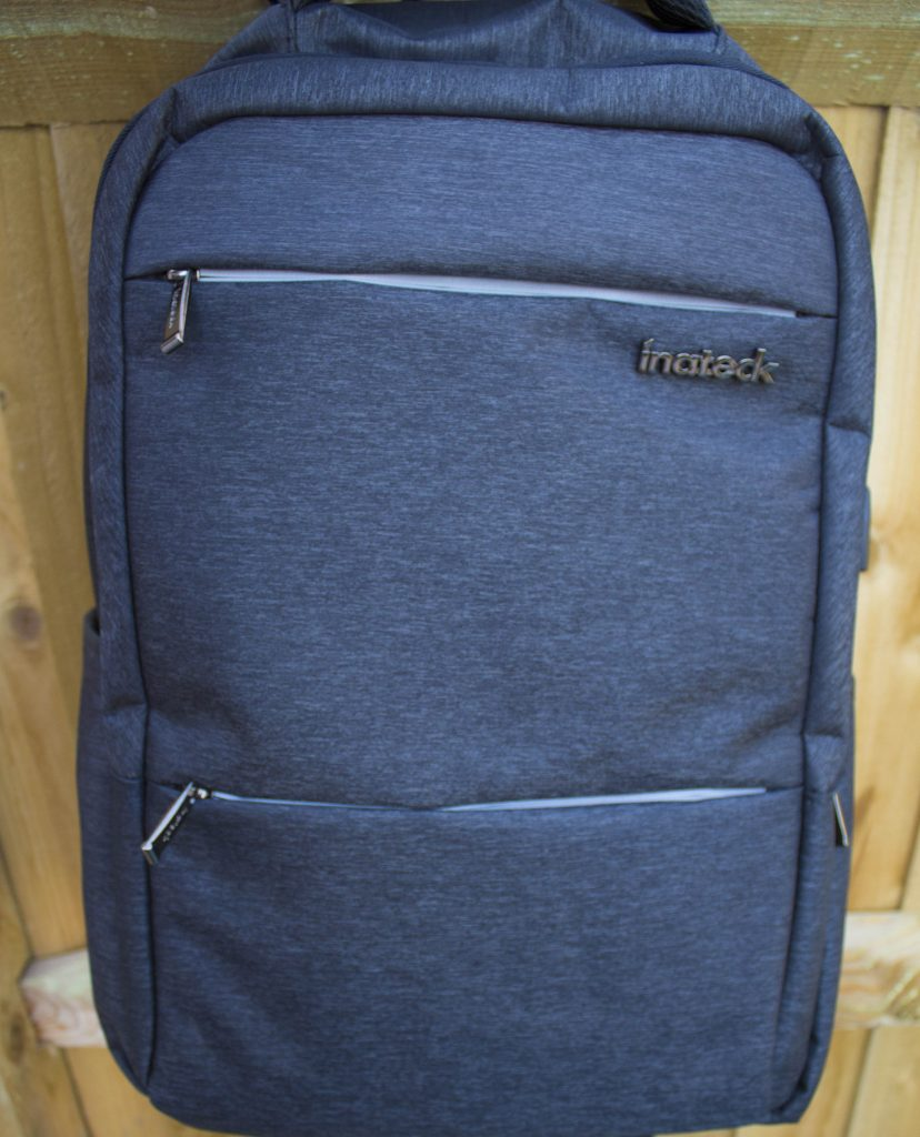Inateck, Inateck laptop bag, review, rucksack, dadbloguk, dadbloguk.com, dad blog uk, school run dad, sahd