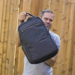 Reviewed: Inateck laptop bag. Great when you need to travel with tech.