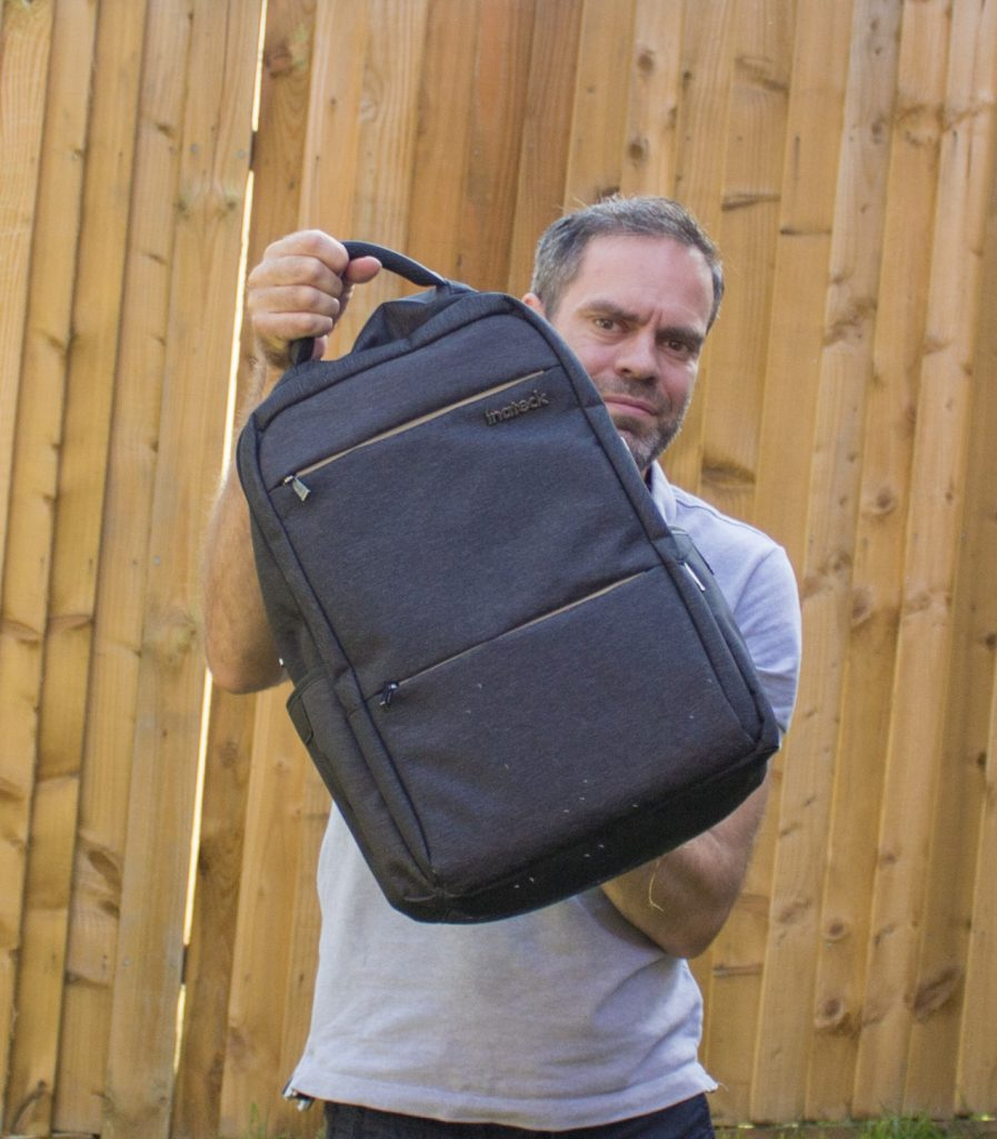 Inateck, rucksack, luggage, freelancer, review, luggage, dadbloguk, dadbloguk.com, dad blog uk, school run dad