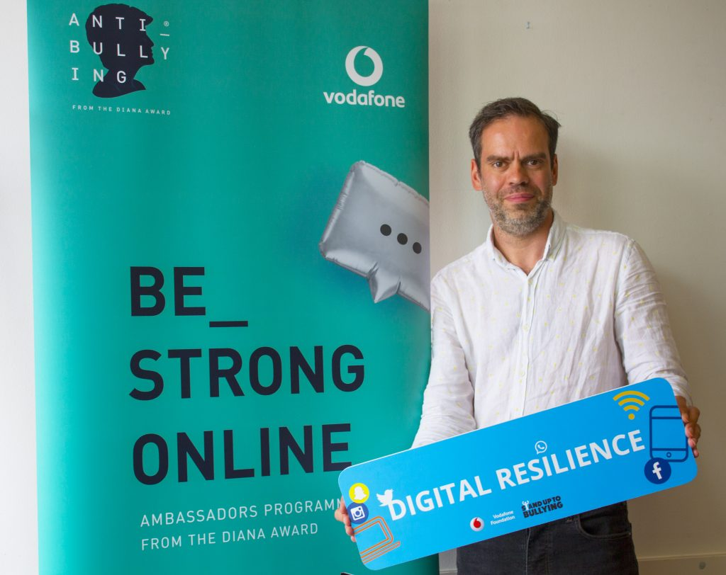 Be strong online, The Diana Award, Vodafone, Vodafone Foundation, Digital Resilience, Online safety, dadbloguk, dadbloguk.com, dad blog uk, school run dad, sahd
