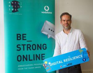 Be strong online, The Diana Award, Vodafone, Vodafone Foundation, Digital Resilience, Online safety, dadbloguk, dadbloguk.com, dad blog uk, school run dad, sahd