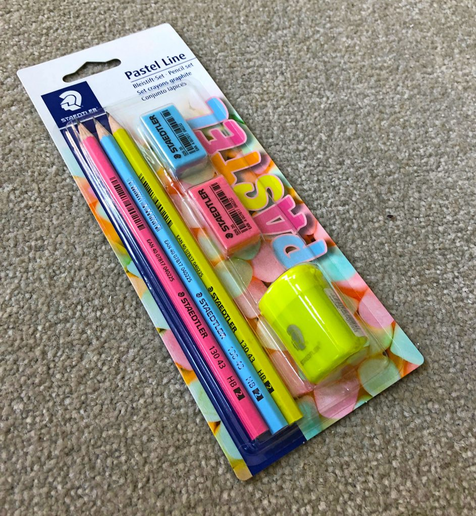 Pastel Line, Staedtler, school run dad, sahd, pencil case, back to school, dadbloguk, dadbloguk.com, dad blog uk, uk dad blog