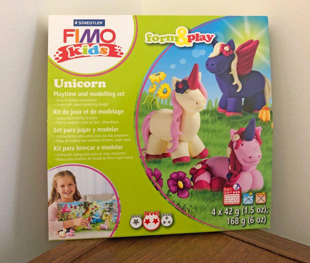 FIMO, unicorn, unicorns, arts and crafts, dadbloguk, dad blog uk, dadbloguk.com, school run dad, sahd, school run dad