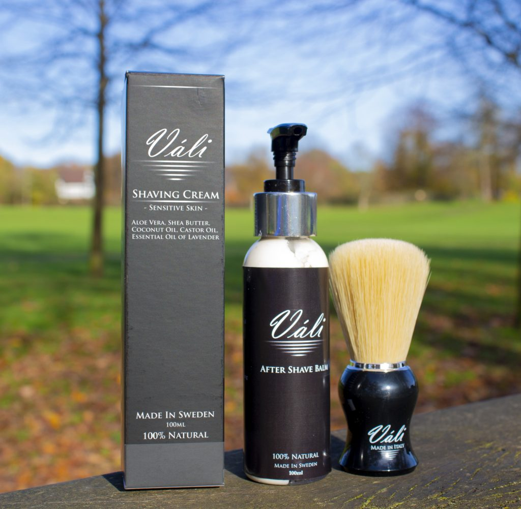 Váli, Váli shaving kit, Váli shaving set, Váli shaving kit review, uk dad blogger, dadbloguk, dad blog uk, dadbloguk.com, school run dad, sahd, Christmas gifts, men's grooming, men's style