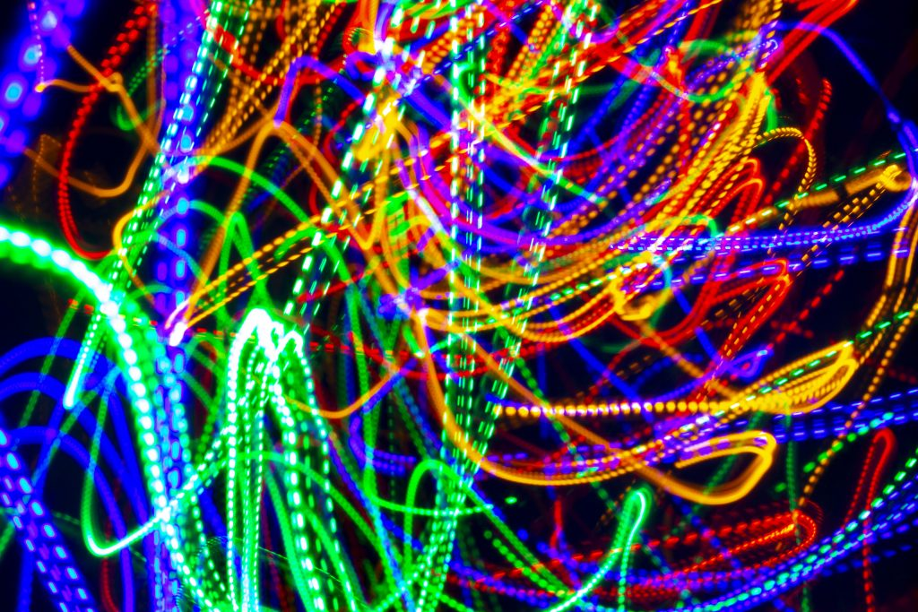 long expsoure photography, photography, Christmas tree lights, LEd lights, LED, dadbloguk, dadbloguk.com dad blog uk, school run dad