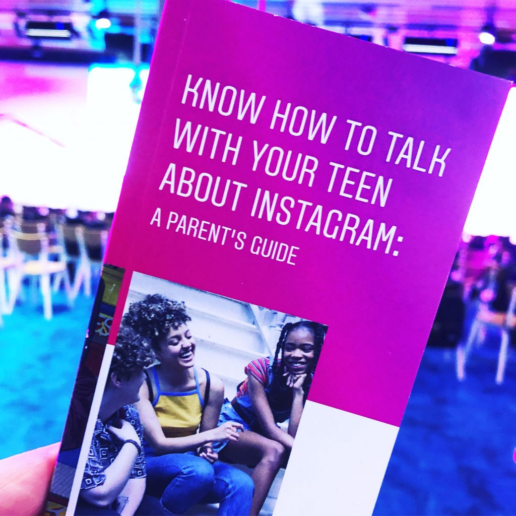 Picture of Instagram's guide for parents.