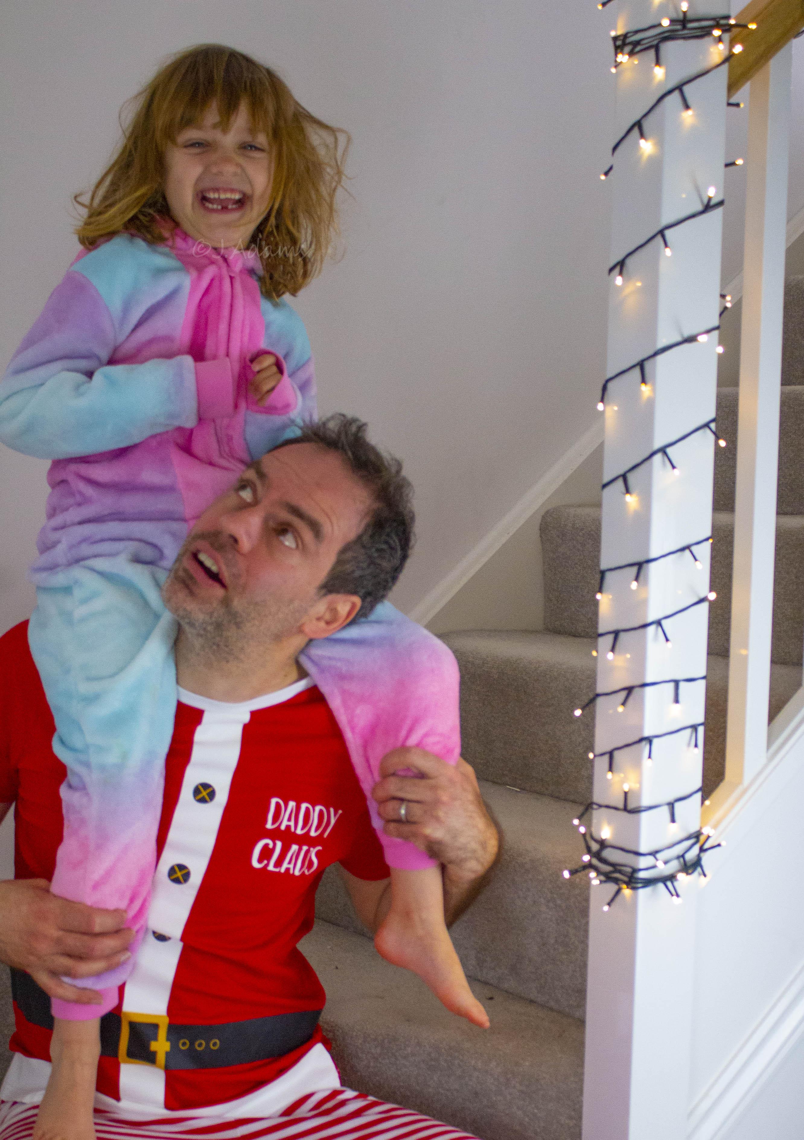 Christmas pyjamas, Asda style