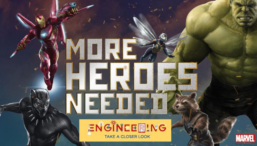 #MoreHeroesNeeded, Year of Engineering, diversity, education, development, girls into engineering, STEM, dadbloguk, dadbloguk.com, school run dad, sahd, wahd
