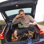 Raiding Saxon England in a Volvo V60