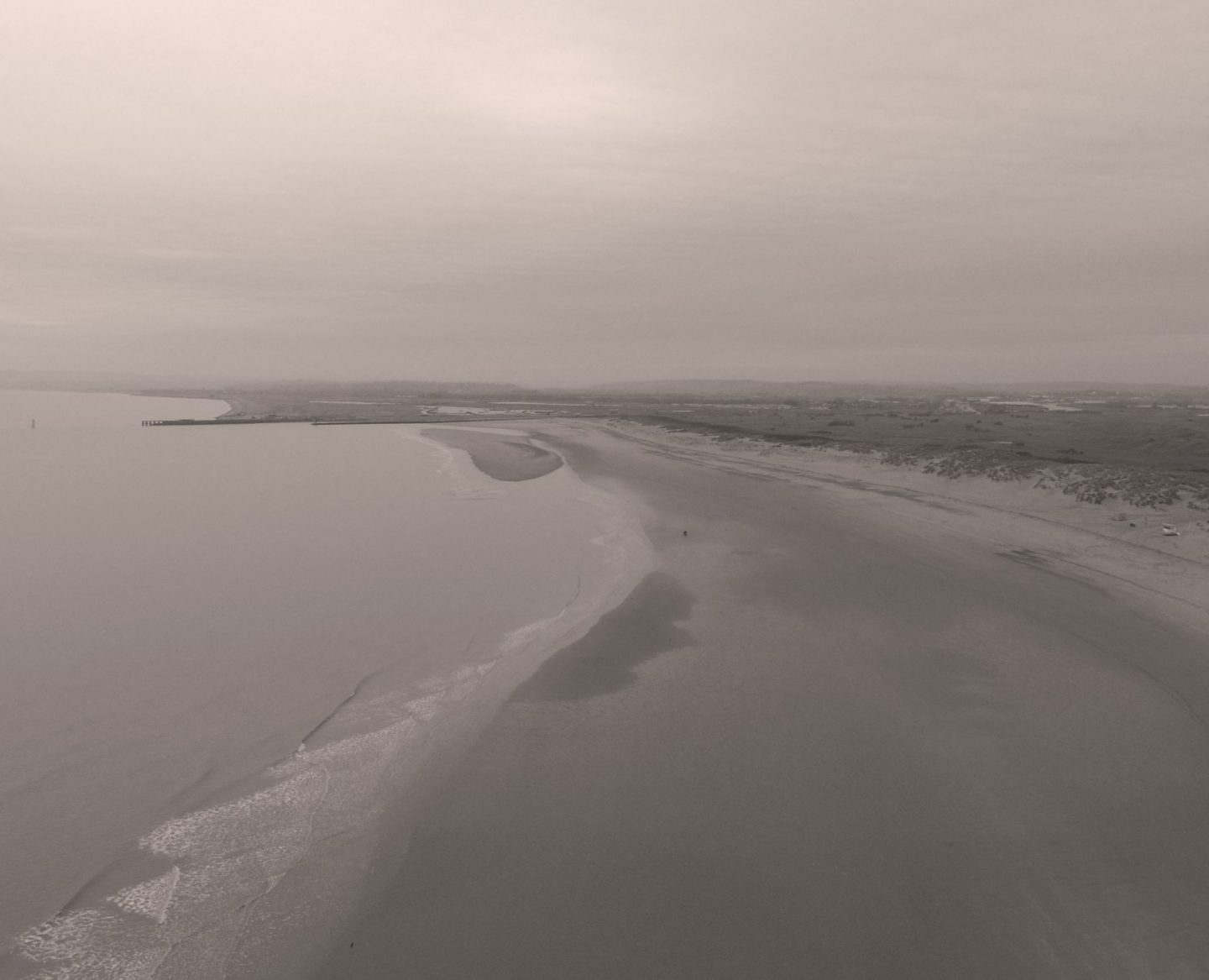 Camber Sands, Camber, Camber Sands beach, drone photograph, drone photo, Sussex coast, East Sussex, DJI Phantom, dadbloguk, uk dad blogger, dadbloguk.com, dad blog uk