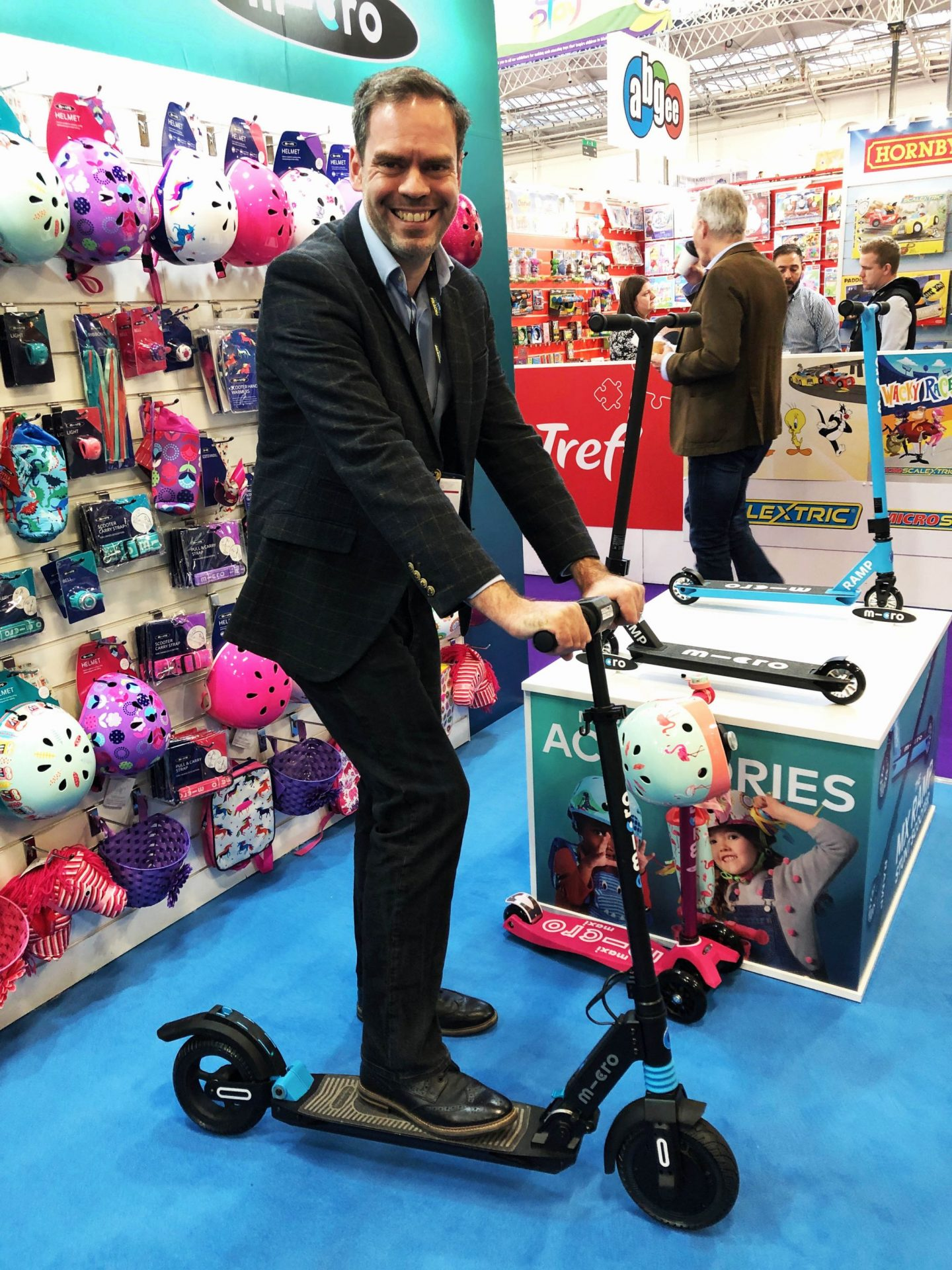 The Toy Fair, Toy Fair 2019, The Toy Fair 2019, Microscooters, dadbloguk, dad blog uk, dadbloguk.com, school run dad, sahd, wahd toys, gifts