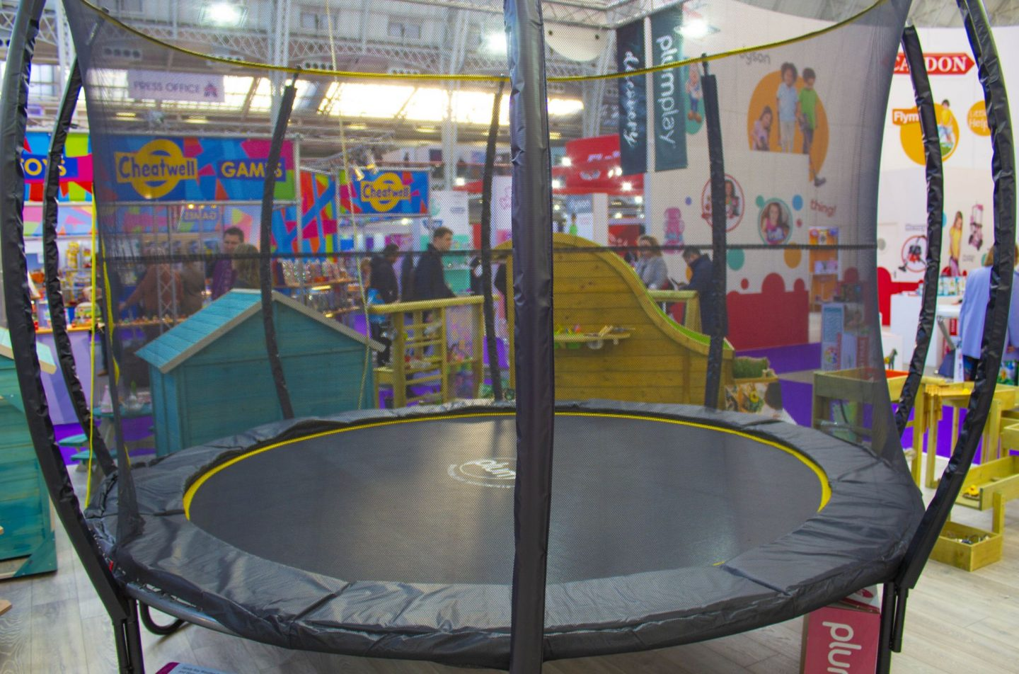 Plum, Plum trampoline, outdoor toys, The Toy Fair, Toy Fair 2019, The Toy Fair 2019, Microscooters, dadbloguk, dad blog uk, dadbloguk.com, school run dad, sahd, wahd toys, gifts