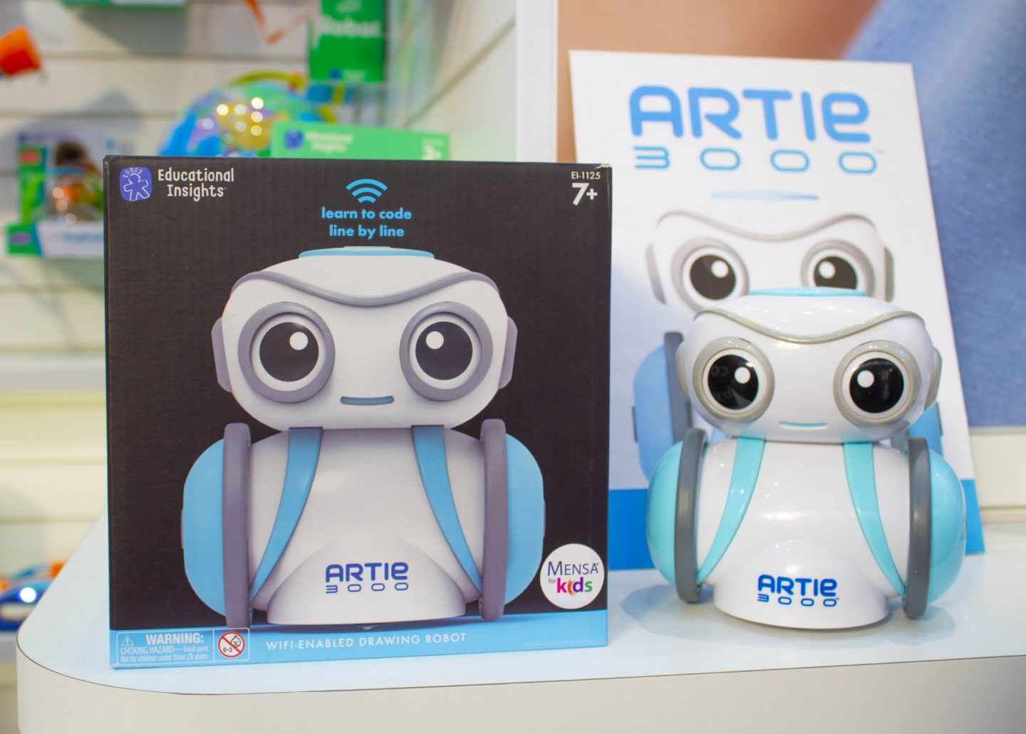 Artie, Learning Resources, coding robot, coding toy, The Toy Fair, Toy Fair 2019, The Toy Fair 2019, Microscooters, dadbloguk, dad blog uk, dadbloguk.com, school run dad, sahd, wahd toys, gifts