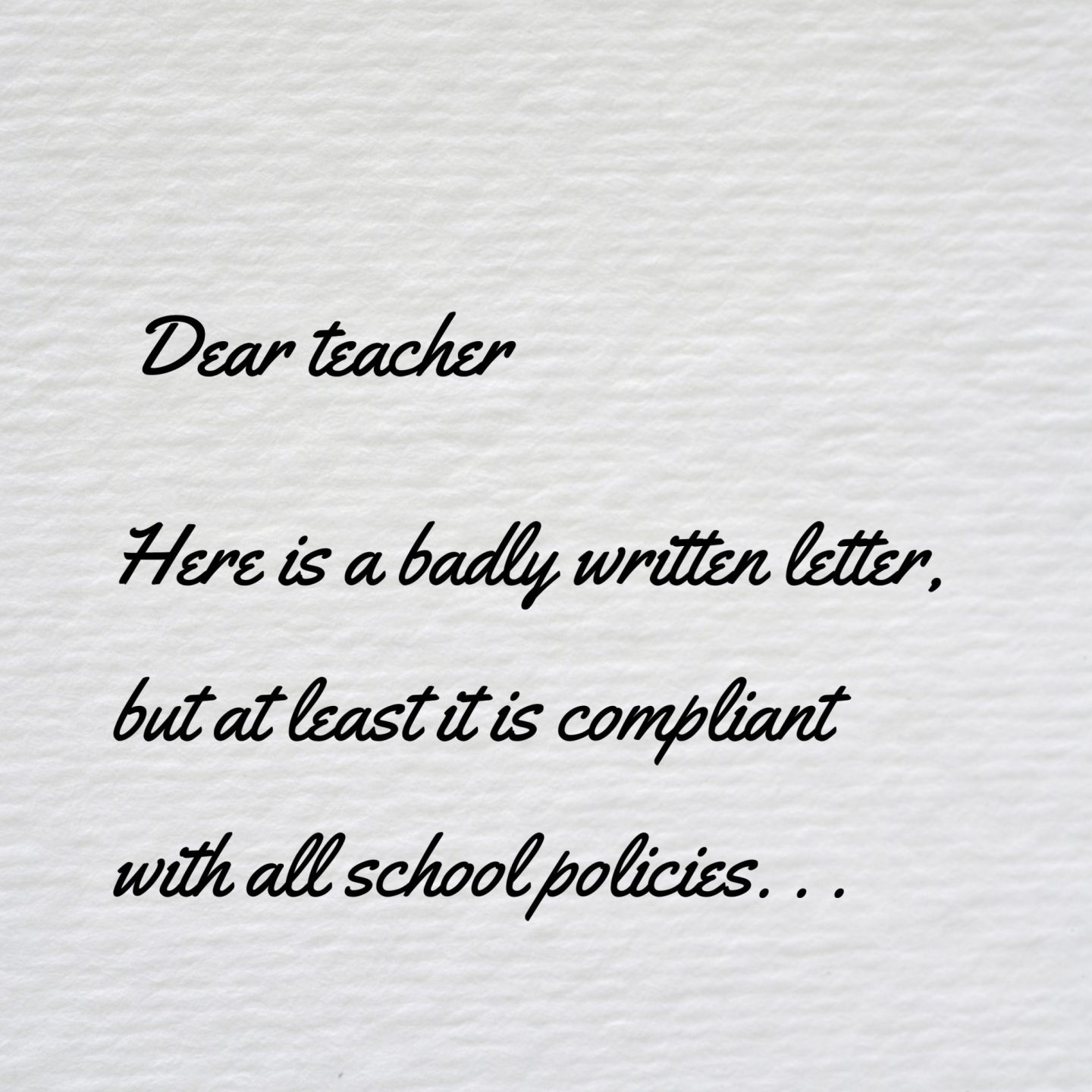 letter to teacher, writing a letter to teacher, writing to school teachers, note to teacher, school run dad, sahd, wahd, uk dad blogger, uk daddy blogger, dadbloguk, dadbloguk.com, dad blog uk