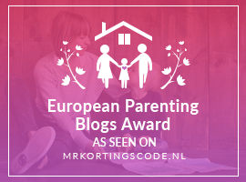Thank you! European Parenting Blog Awards win