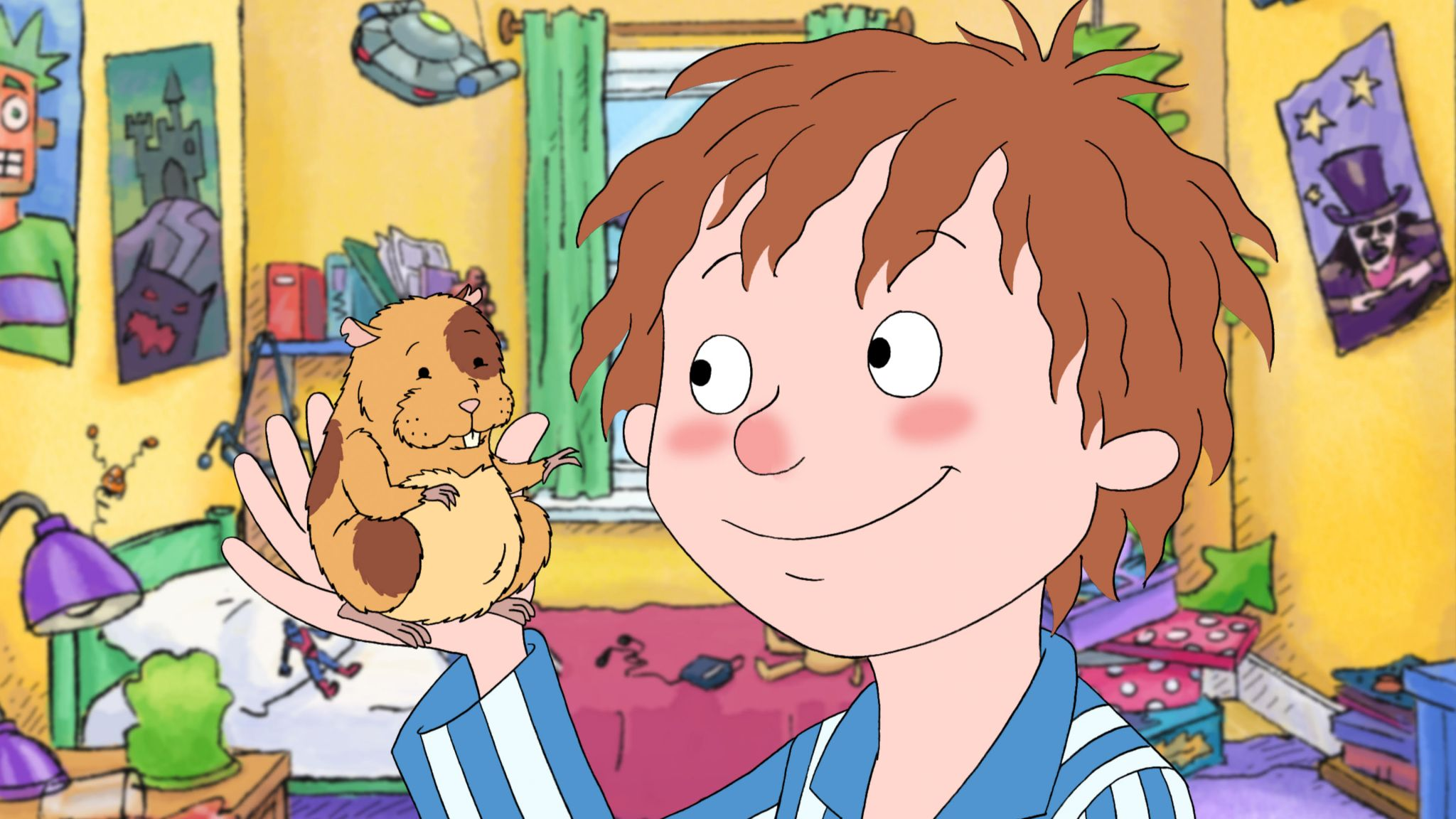 Behind the scenes with the cast of Horrid Henry
