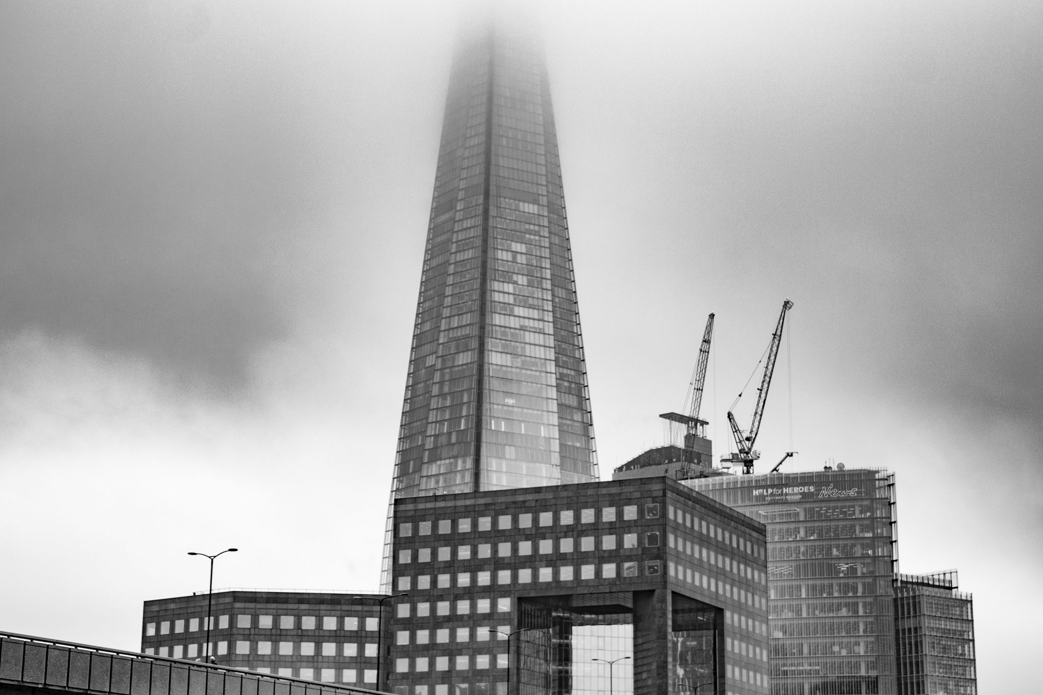 The Shard emerges from the mist