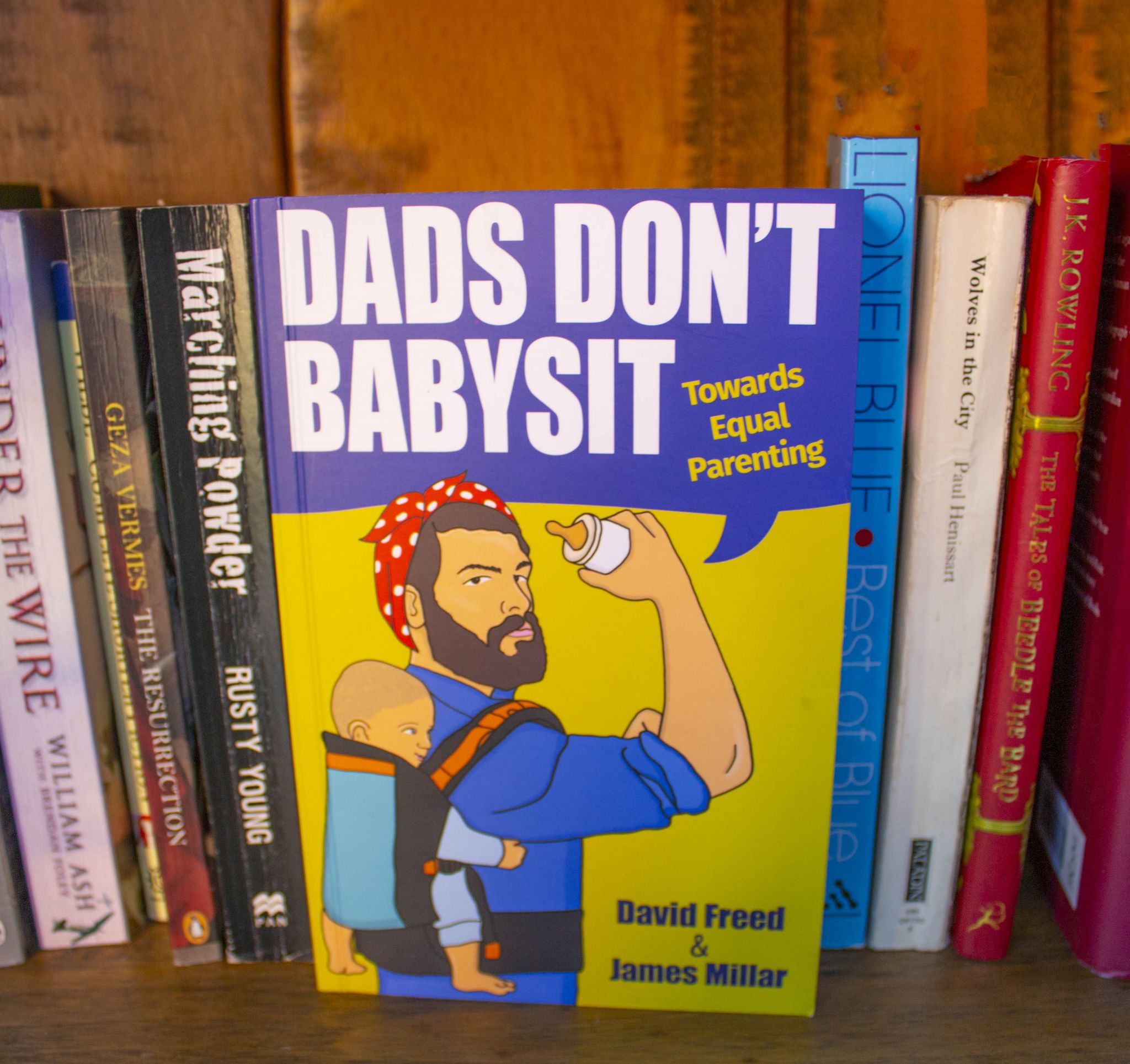 Dads Don't Babysit, Towards Equal Parenting: the book that almost never was