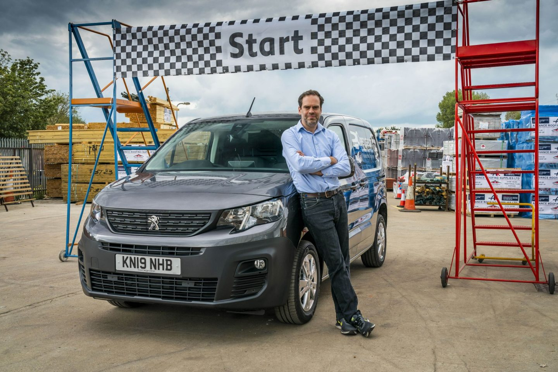 Peugeot, Surround rear Vision System, Partner Van, dadbloguk, motoring, driving, driving challenge, motoring