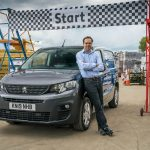 A blogger, a van and the Peugeot Surround Rear Vision challenge