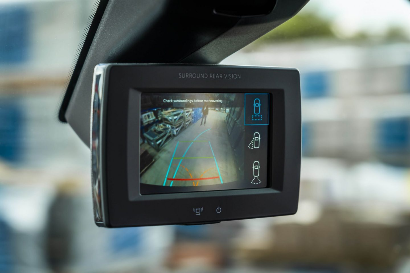 Surround rear Vision system, Peugeot, dad blog, dadbloguk