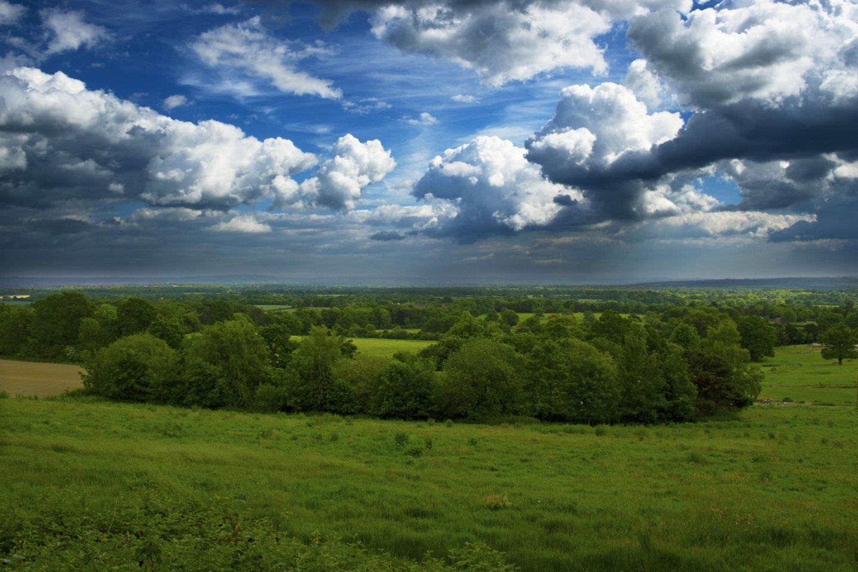 landscape, English countryside, visit England, sunshine, DSLR photograph