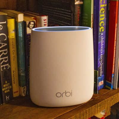 Filling the WiFi dead zone with an Orbi mesh system and Orbi Voice smart speaker #ad