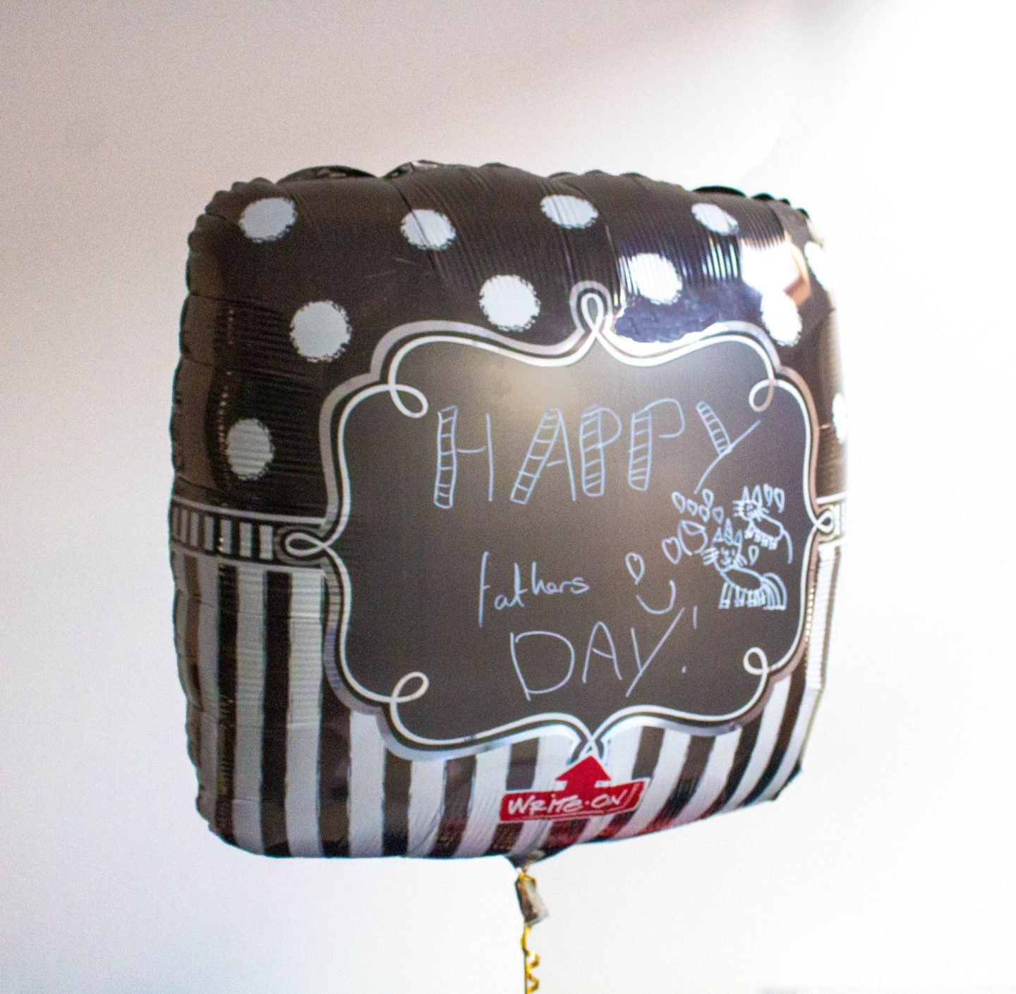 Happy father's Day, Father's Day, father's day gift, Father's Day gifts, dad blog, dadbloguk.com, balloon