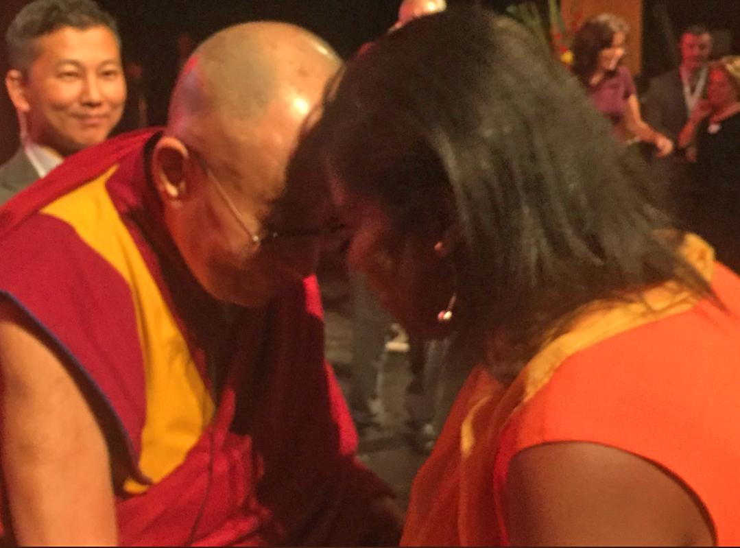 Dalai Lama. His Holiness the Dalai Lama, Londonderry, Derry, Children in Crossfire
