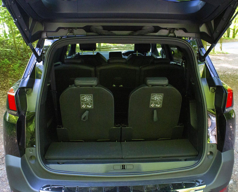 Peugeot 5008, Peugeot 5008 trunk, Peugeot 5008 boot, Peugeot 5008 seats