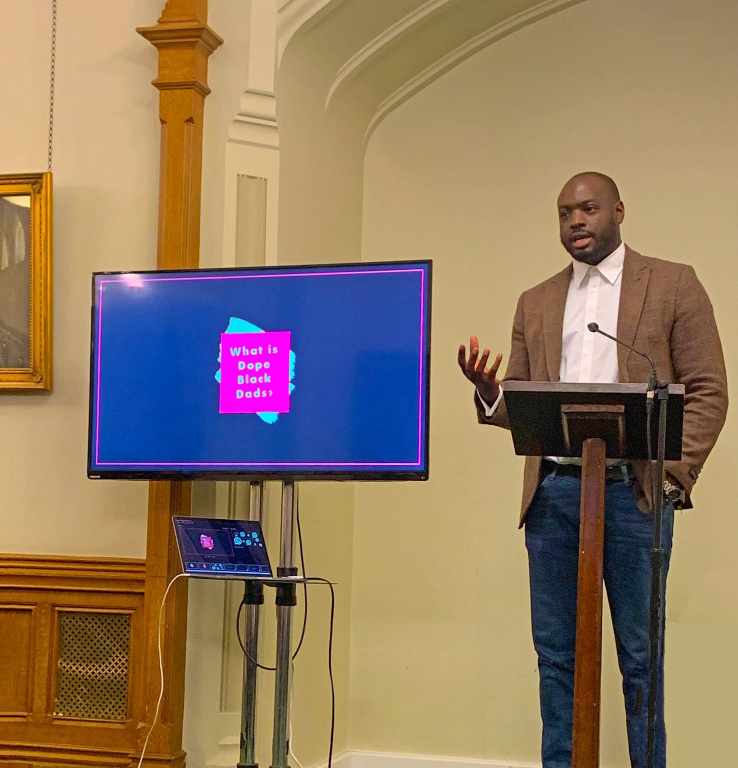 Dope Black dads, fatherhood, support for dads, dad blog, Marvyn Harrison