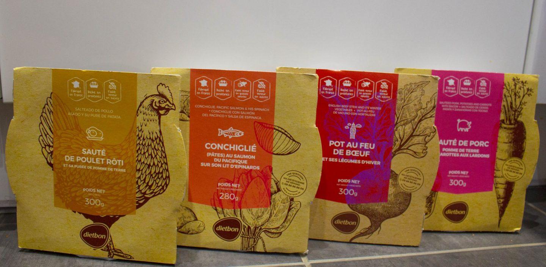 Dietbon food, packaged food