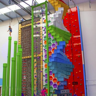 A morning Clip n' Climb session at Jump In, Enfield #ad