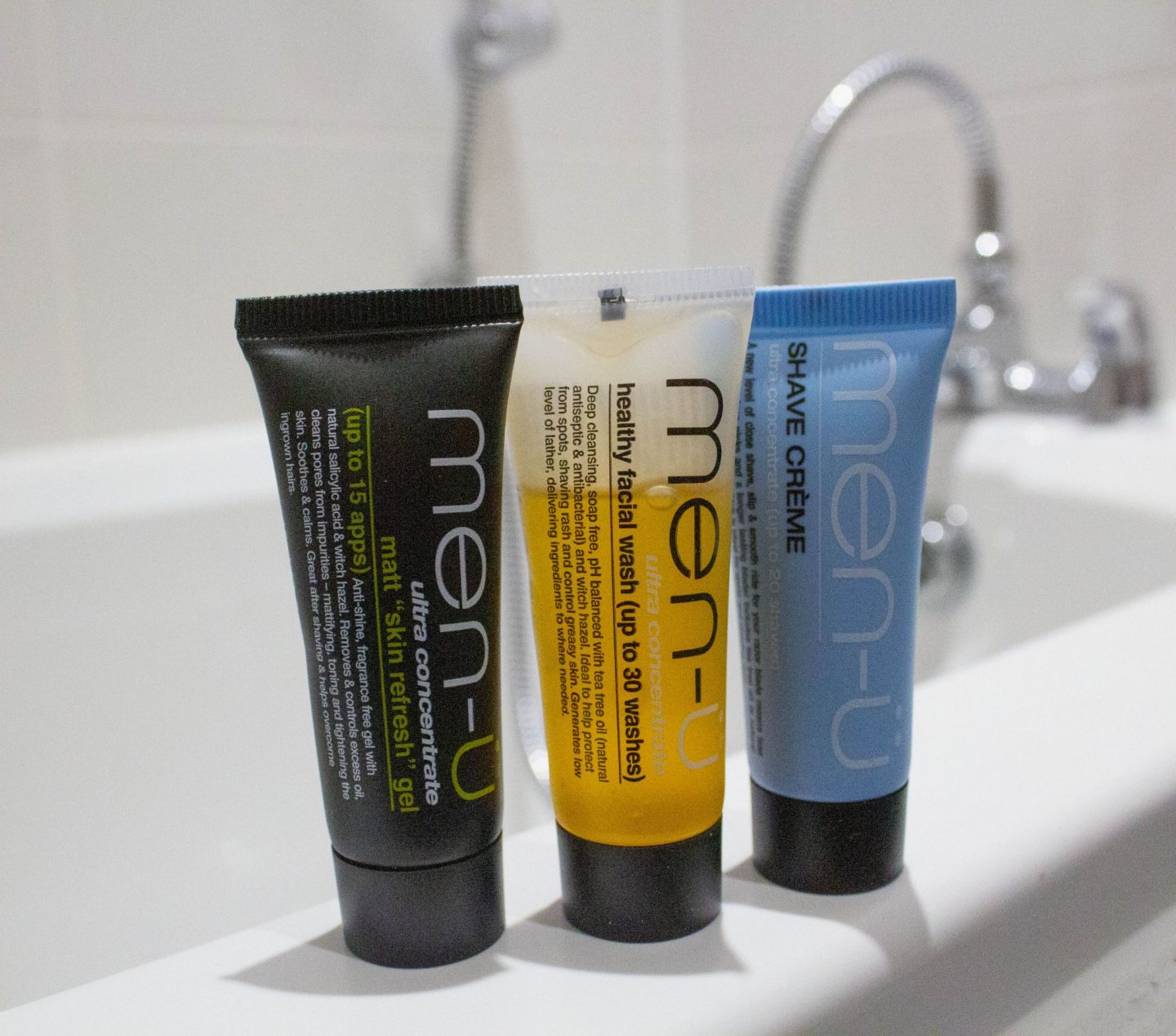 Men-ü, skin refresher set, dad blog