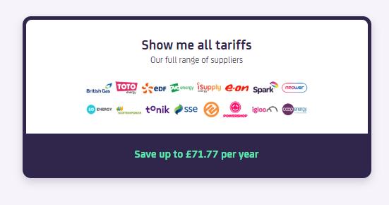 WeFlip, auto-switching, utilities, energy supplier, saving money, save money
