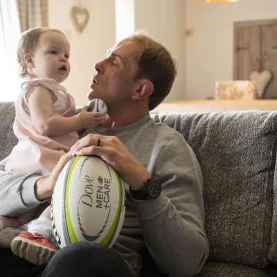 Talking fatherhood with Wales rugby captain Alun Wyn Jones