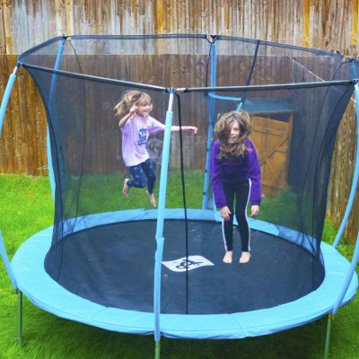 Used and reviewed: TP Toys hip hop trampoline