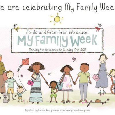 Celebrating My Family Week 2019
