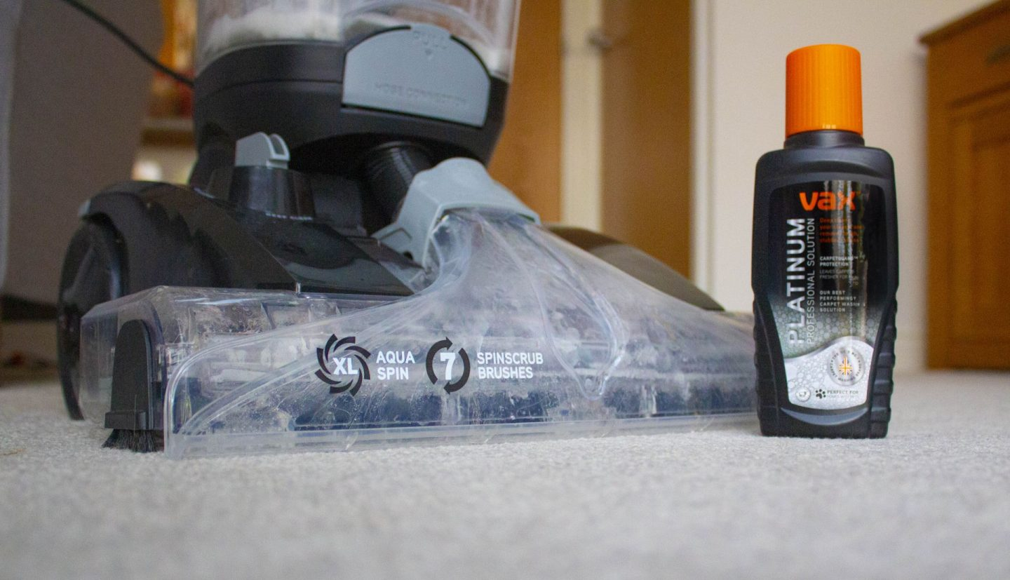Used And Reviewed Vax Platinum Power Max Carpet Cleaner Ad Dad Blog Uk