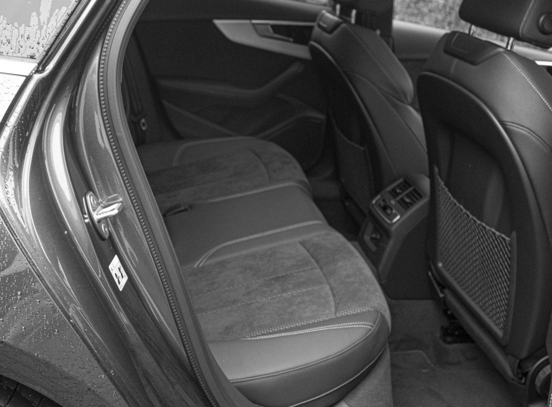 Audi A4 Avant back seat,