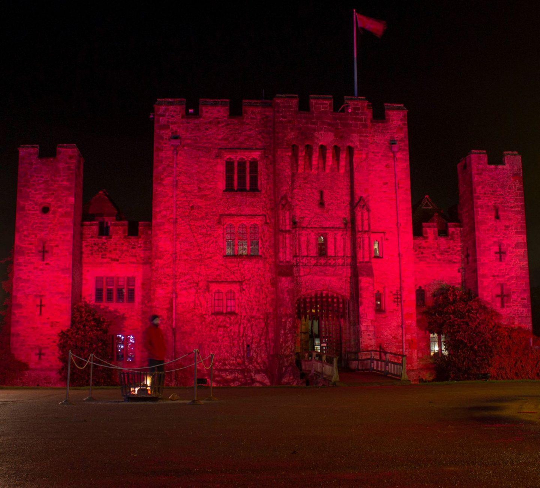 Alice in a Christmas Wonderland, visit kent, Kent, dadbloguk, hever Castle