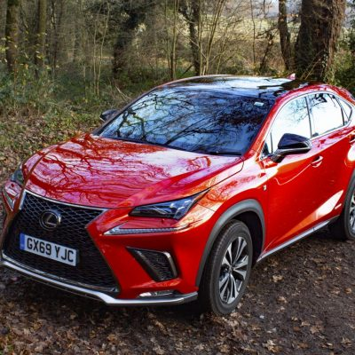 Driving a hybrid for the first time: Lexus NX F SPort #ad