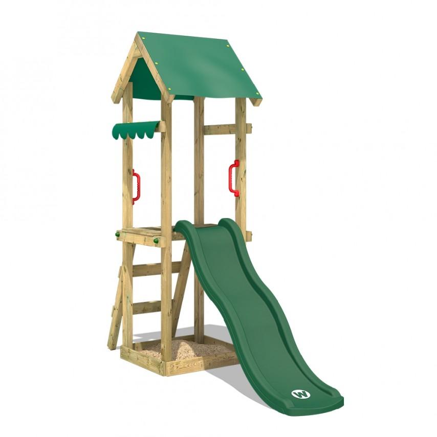 Wickey, wood climbing frame