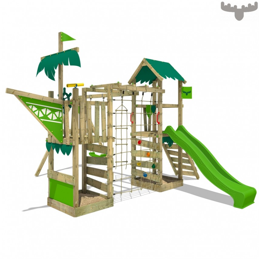 climbing frame, garden climbing frame, playing outdoors